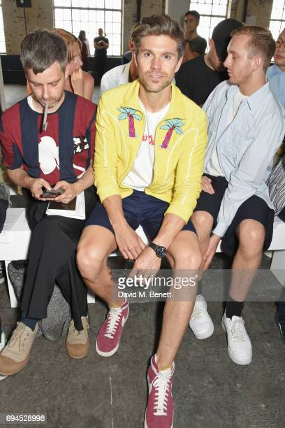 Darren Kennedy attends the MAN show during the London Fashion Week Men's June 2017 collections on June 10 2017 in London England