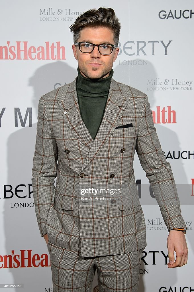 Darren Kennedy attends the Men's Health x Liberty x YMC party during The London Collections: Men Autumn/Winter 2014 on January 7, 2014 in London, England.