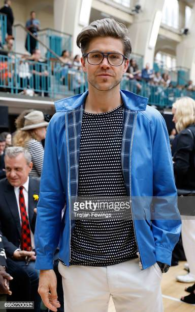 Darren Kennedy attends the Vivienne Westwood show during London Fashion Week Men's June 2017 collections on June 12 2017 in London England