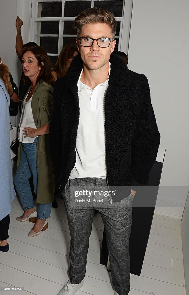 Darren Kennedy attends the Whistles x GQ Style House Party on September 10 2014 in London England