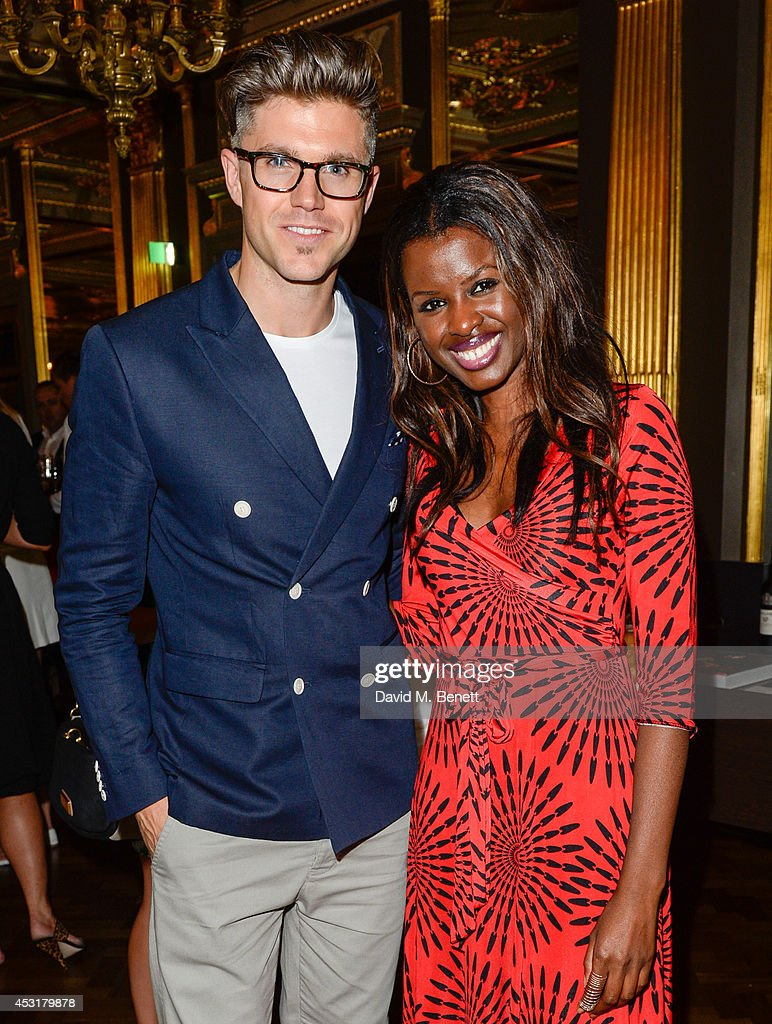 Darren Kennedy & June Sarpong attend the VIP charity event, which Drapers and WGSN Group, partnered with Parsons The New School for Design and the British Fashion Council to hold, in aid of the Prince's Trust Million Makers on August 4, 2014 in London, England. The event saw the launch the acclaimed book 'The School of Fashion: 30 Parsons Designers' by Simon Collins, Dean of Fashion at Parsons. The richly-illustrated volume explores the legacy of Parsons through the testimony of its brightest alumni, with interviews and sketches from Donna Karan, Alexander Wang, Jack McCullough and Lazaro Hernandez of Proenza Schouler, and many others.