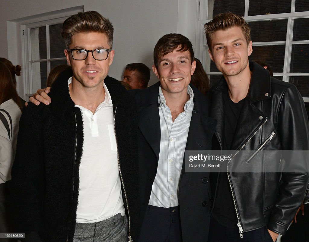 Darren Kennedy Will Best and Jim Chapman attend the Whistles x GQ Style House Party on September 10 2014 in London England