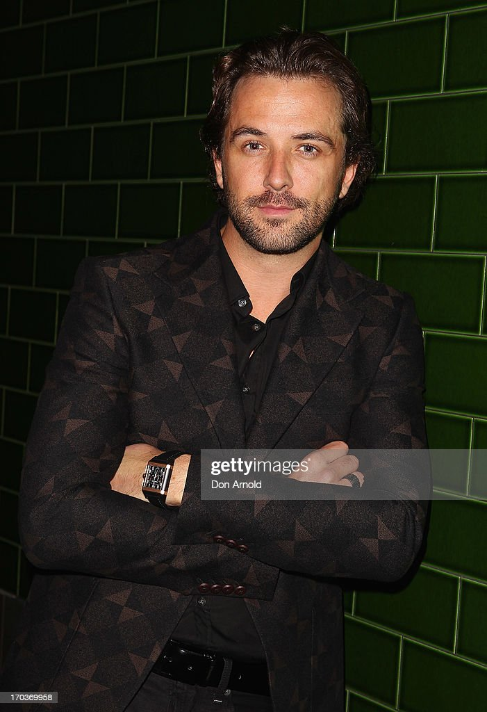 <a gi-track='captionPersonalityLinkClicked' href=/galleries/search?phrase=Darren+McMullen&family=editorial&specificpeople=4126334 ng-click='$event.stopPropagation()'>Darren McMullen</a> arrives at the CLEO Bachelor of the Year Awards at the Beresford Hotel on June 12, 2013 in Sydney, Australia.