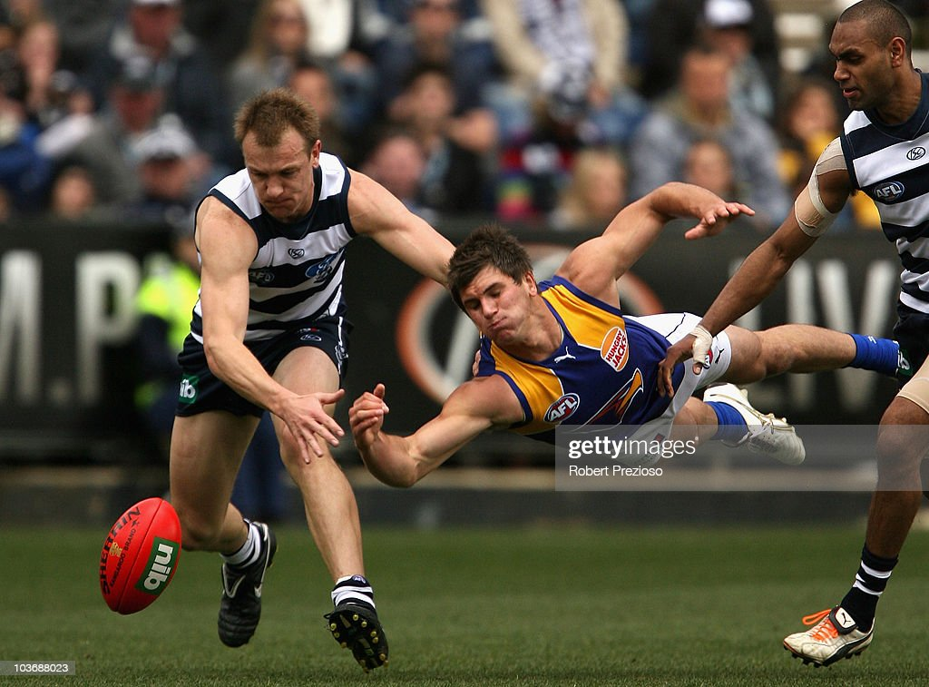 AFL Rd 22 - Cats v Eagles