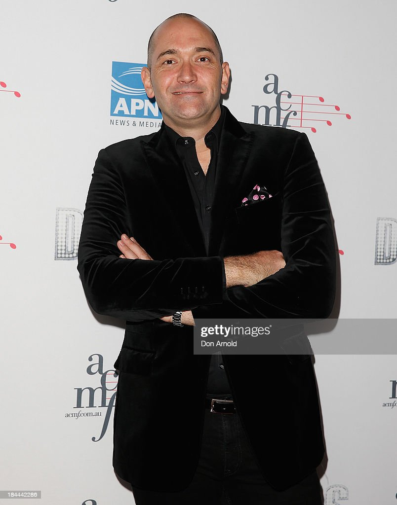 Darren Percival poses at the 4th Annual Duets Gala concert at the Capitol Theatre on October 14, 2013 in Sydney, Australia.