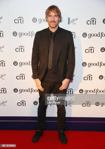 Darren Robertson arrives ahead of the Good Food Guide Awards on October 16 2017 in Sydney Australia