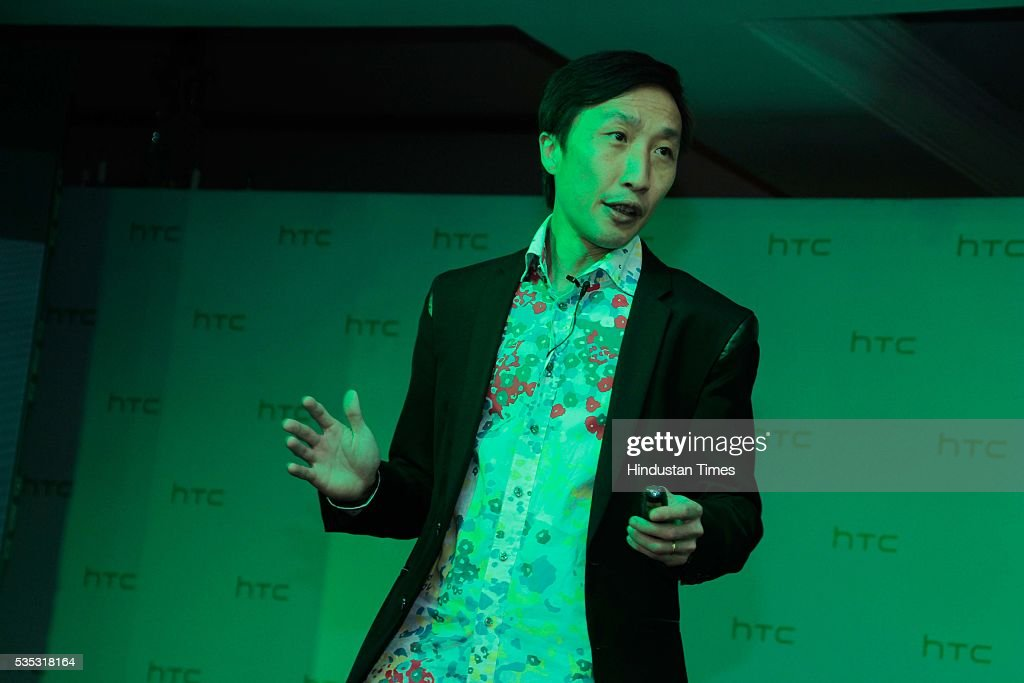 Darren Sng, HTC's Head of Global Product Marketing during the launch of global flagship smartphone, HTC 10 at Taj Mahal Hotel, on May 26, 2016 in New Delhi, India. Faisal Siddiqui, President, HTC South Asia, said, 'India is one of the fastest growing Smartphone markets globally and the customers are technology savvy. We are pleased to launch our all-new range of smartphones in the HTC One and Desire categories. Our new range focuses on providing distinctive features with an outstanding user experience along with the freedom to personalise their smartphones. Each smartphone has a unique customer value proposition and is targeted at a specific audience. We strongly believe our flagship HTC 10, the HTC One X9, and our youthful Desire smartphones will capture the mindshare of our consumers.'