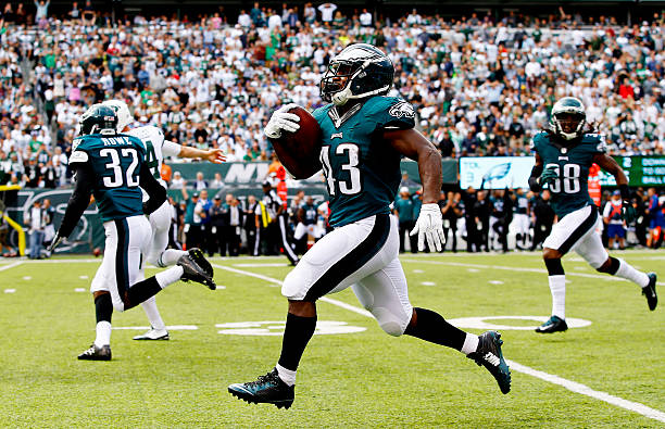 48fa0f30be9 ... jerseys sale darren sproles 39599 8771e; new zealand sproles 43 of the  philadelphia eagles returns a punt 89 yards for a touchdown