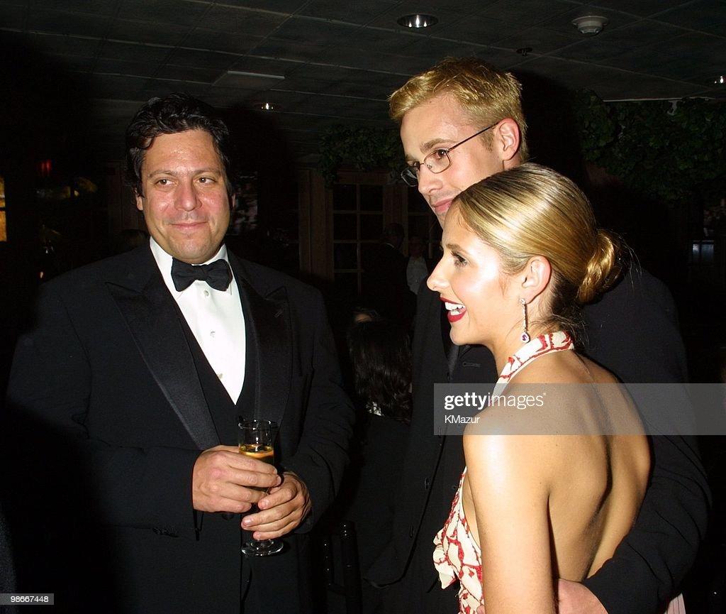 Darren Star, Freddie Prinze Jr. and Sarah Michelle Gellar