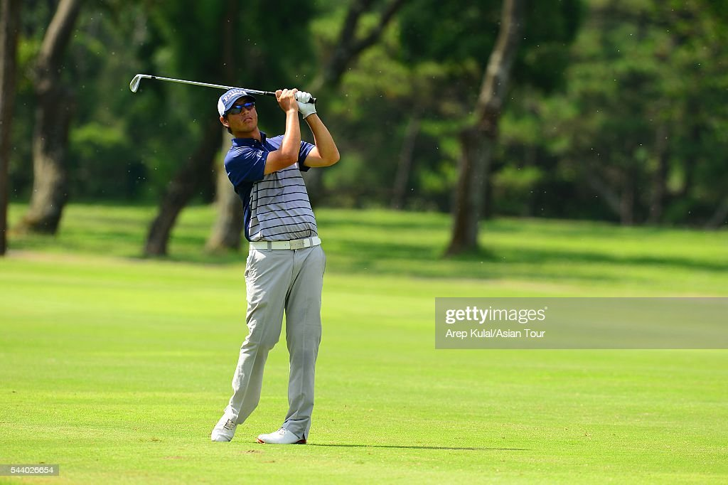 Darren Tan of Australia pictured during the round 2 of the Yeangder Tournament Players Championship 2016 at Linkou International Golf Club on July 1, 2016 in Taipei, Taiwan.