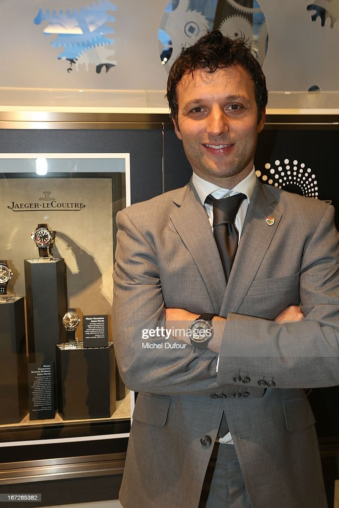 Darren Turner attends the 'Jaeger Lecoultre' Coktail Party at Place Vendome on April 22 2013 in Paris France