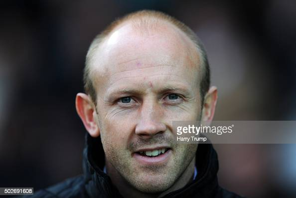 Darren Way Interim Manager of Yeovil Town during the Sky Bet League Two match between Yeovil Town and Oxford United at Huish Park on December 28 2015...