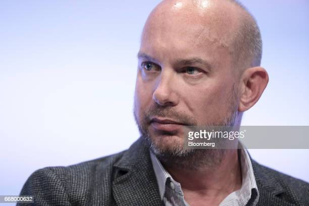 Darren Westlake cofounder and chief executive officer of Crowdcube Ltd looks on during the International Fintech Conference in London UK on Wednesday...