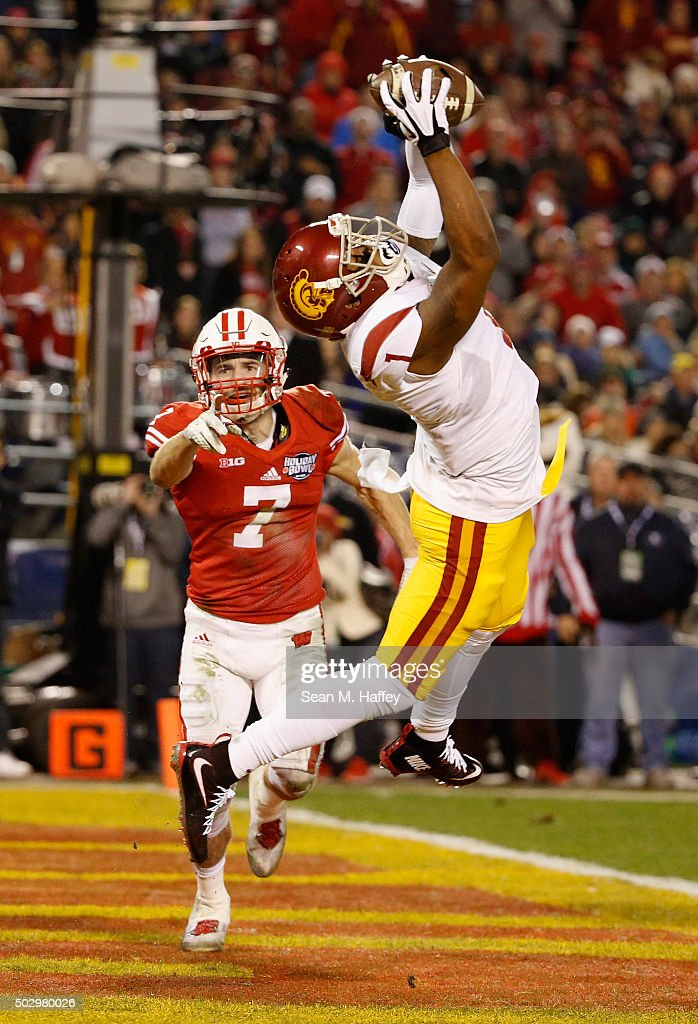National University Holiday Bowl - USC v Wisconsin