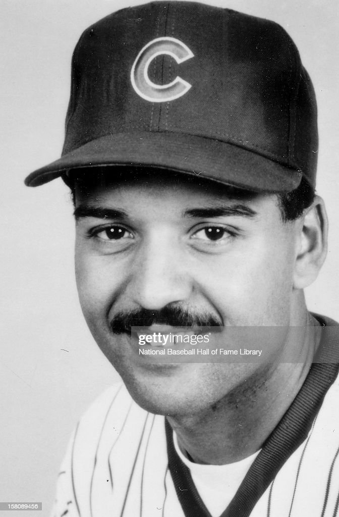 Darrin Jackson #30 of the Chicago Cubs poses for a portrait circa 1980's in Chicago, Illinois.