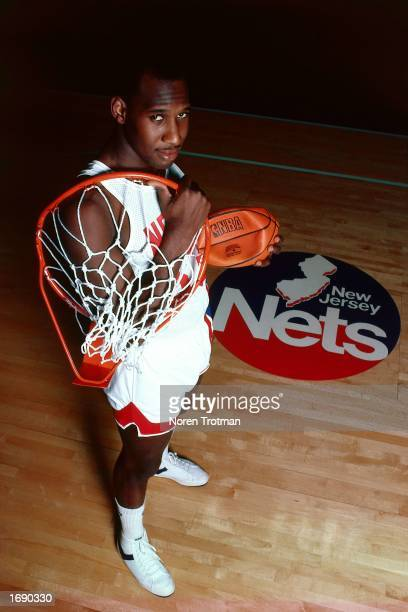 Darryl Dawkins of the New Jersey Nets poses for a portrait after a 1984 NBA games at the Brendan Byrne Arena in East Rutherford New Jersey NOTE TO...