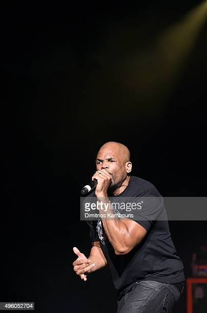 Darryl DMC Matthews McDaniels performs at the 'I Want My 80's' Concert at The Theater at Madison Square Garden on November 6 2015 in New York City