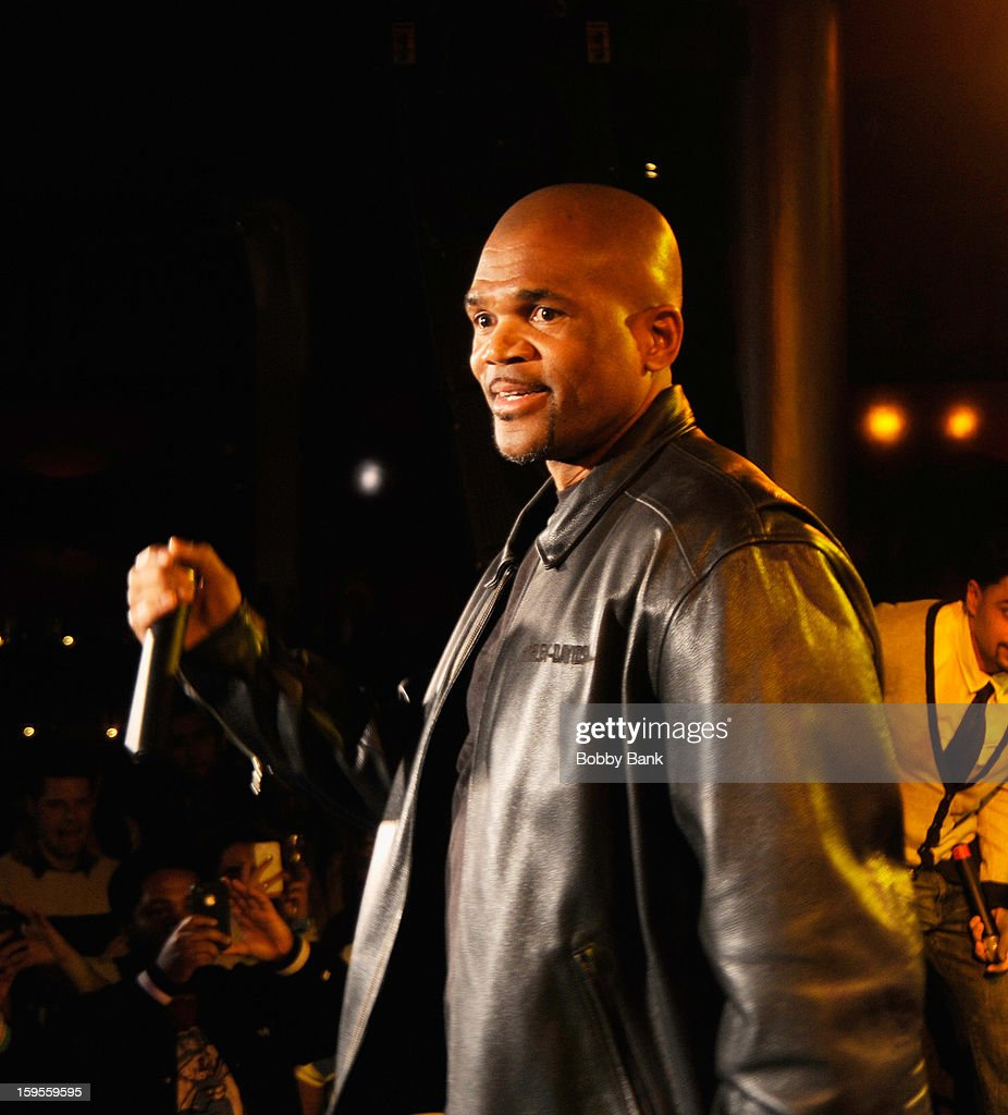 Darryl 'D.M.C.' McDaniels attends the Scratch DJ Academy Semester 10th Anniversary at Canal Room on January 15, 2013 in New York City.