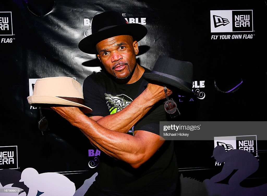 Darryl 'D.M.C.' McDaniels seen at the New Era Cap tent at The Barnstable Brown Gala on May 3, 2013 in Louisville, Kentucky.
