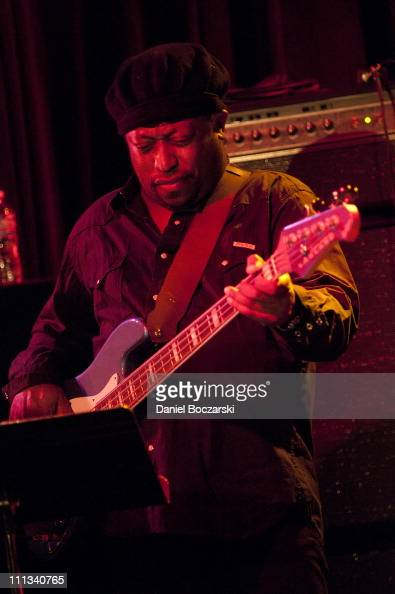 Darryl Jones performs during the Bitches Brew 40th Anniversary Band event during the 2011 Miles Davis Festival at Martyr's on March 31 2011 in...