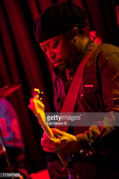 Darryl Jones plays at the Bitches Brew 40th Anniversary Band event during the 2011 festival at Martyr's on March 31 2011 in Chicago Illinois