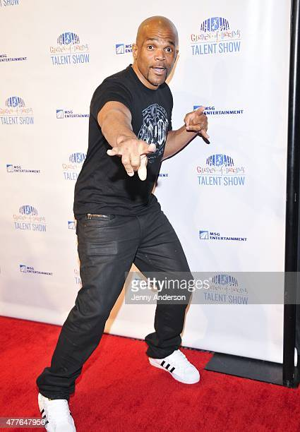 Darryl McDaniels attends Garden of Dreams Foundation Children Talent Show at Radio City Music Hall on June 18 2015 in New York City