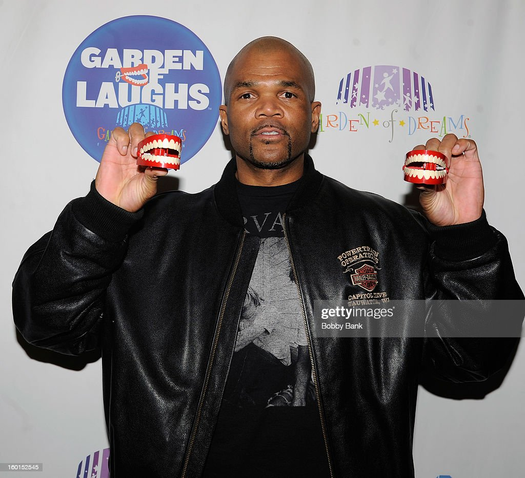 Darryl McDaniels attends 'Garden Of Laughs' Benefit at Madison Square Garden on January 26, 2013 in New York City.