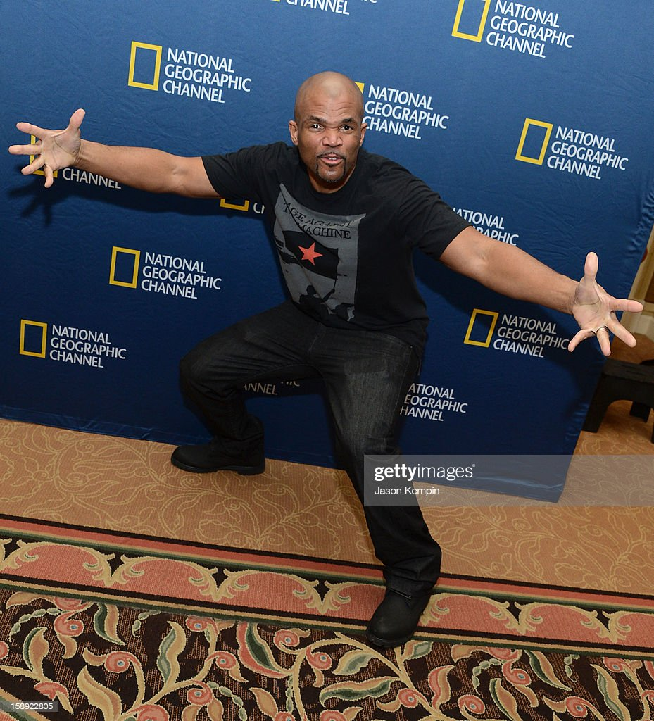 <a gi-track='captionPersonalityLinkClicked' href=/galleries/search?phrase=Darryl+McDaniels&family=editorial&specificpeople=175934 ng-click='$event.stopPropagation()'>Darryl McDaniels</a> attends the National Geographic Channels' '2013 Winter TCA' Cocktail Party at the Langham Huntington Hotel on January 3, 2013 in Pasadena, California.