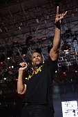 Darryl McDaniels of Run DMC performs onstage at the 10th Annual Jazz in the Gardens Celebrating 10 Years of Great Music at Sun Life Stadium on March...