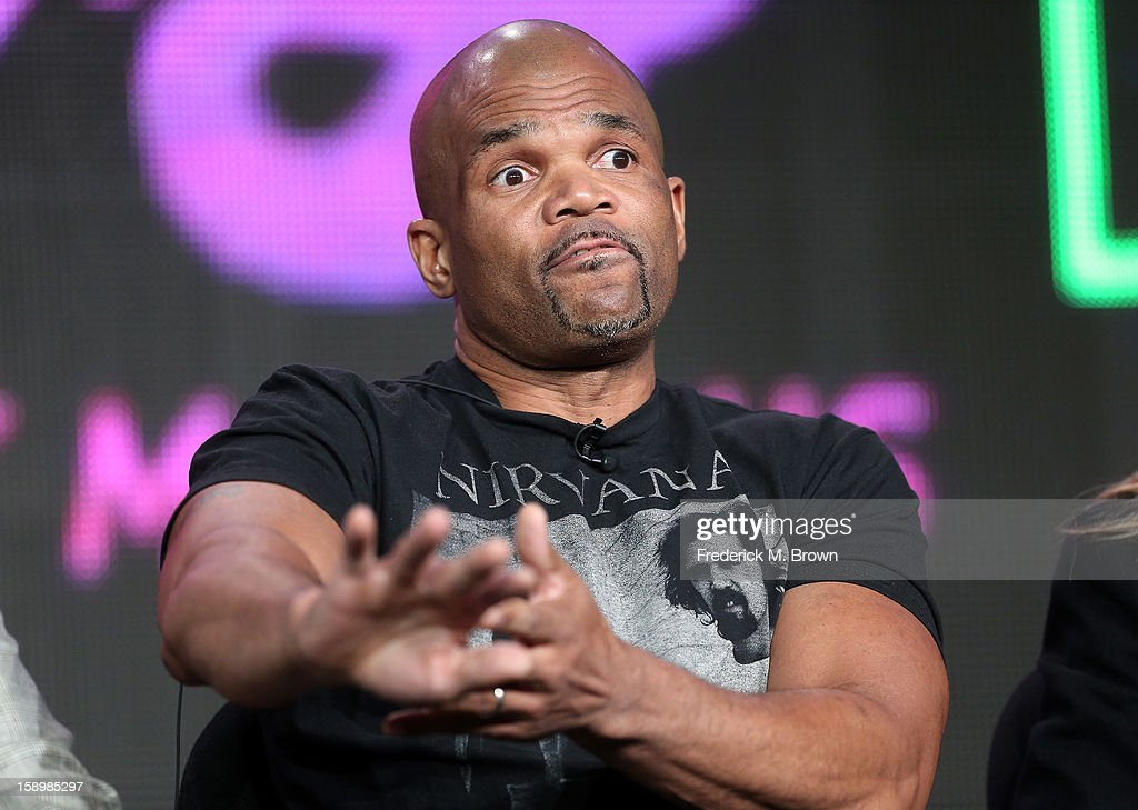 Darryl McDaniels of Run DMC speaks onstage during 'The 80's the decade that made us' panel discussion at the National Geographic Channels portion of the 2013 Winter TCA Tourduring 2013 Winter TCA Tour - Day 1 at Langham Hotel on January 4, 2013 in Pasadena, California.