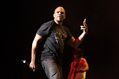 Darryl McDaniels performs onstage during the 'I Want My 80's' concert at The Theater at Madison Square Garden on November 6 2015 in New York City