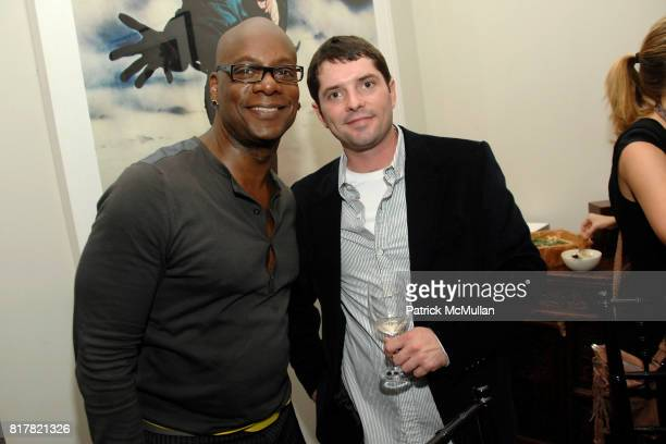 Darryl Robinson and Tom Conway attend OLDMAN'S BRAVE NEW WORLD OF WINE Book Launch Hosted by W W Norton and Mark Oldman at Residence of Mark Oldman...