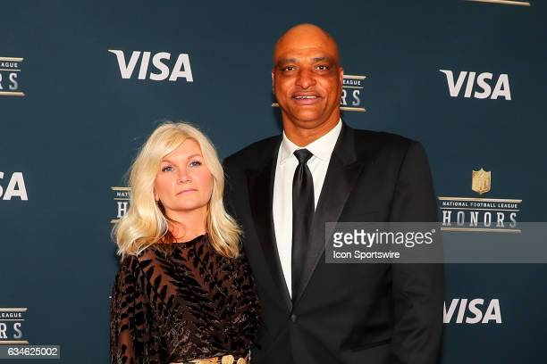 Darryl Talley on the Red Carpet at the 2017 NFL Honors on February 04 at the Wortham Theater Center in Houston Texas