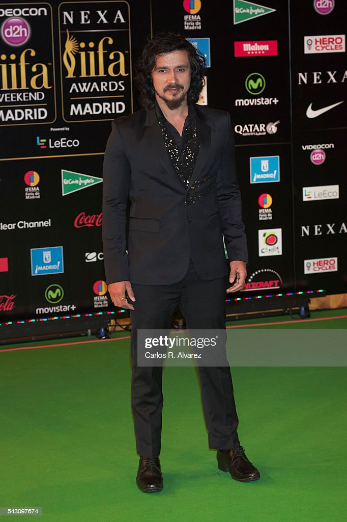 Darshan Kumaar attends the 17th IIFA Awards (International Indian Film Academy Awards) at Ifema on June 25, 2016 in Madrid, Spain.