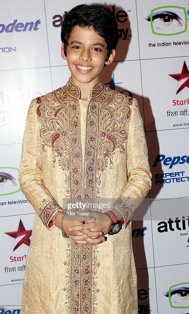 Darsheel Safary during Indian Television Academy Awards 2012 (ITA Awards), held in Mumbai on November 4, 2012.