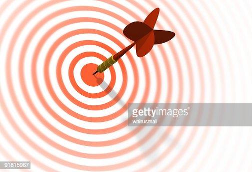 Dart & target