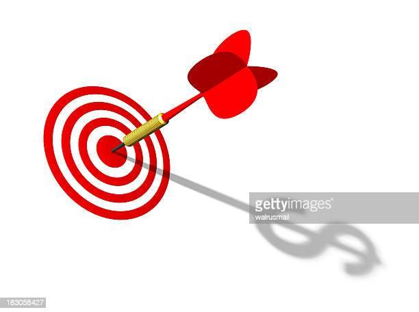 Fléchette et target