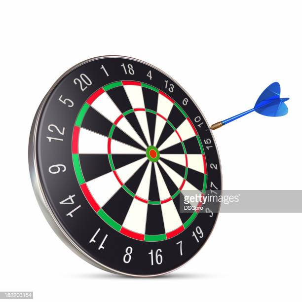 Dart on center