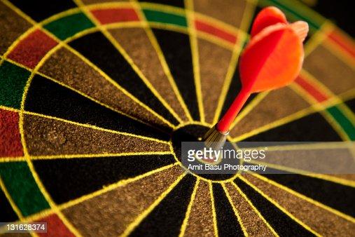 Dart right on target
