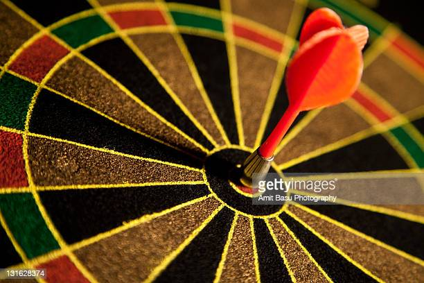 Dart right on target