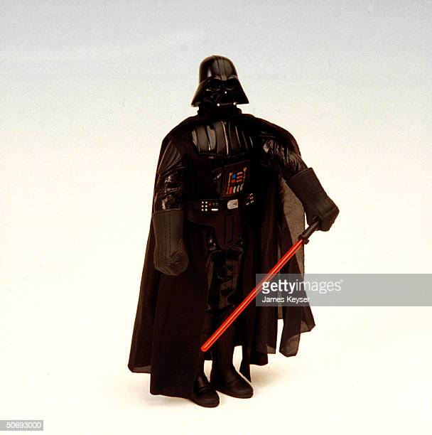 Darth Vader action figure based on character from 1977 film Star Wars