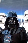 Darth Vader during 'Star Wars Episode III Revenge of the Sith' Madrid Premiere at Kinepolis Cinema in Madrid Spain