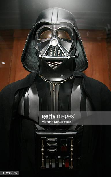 Darth Vader during 'Star Wars' The Exhibition at County Hall in London Great Britain