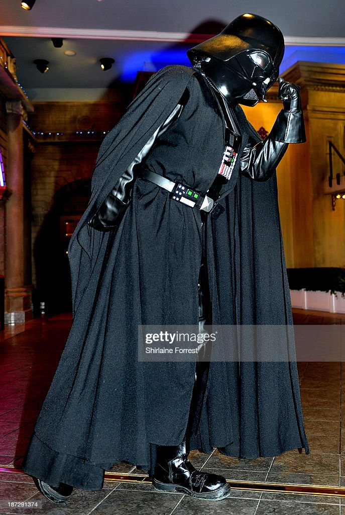 Today is Star Wars Day! Darth-vader-of-star-wars-by-99th-garrison-poses-like-bruce-forsyth-picture-id187291374