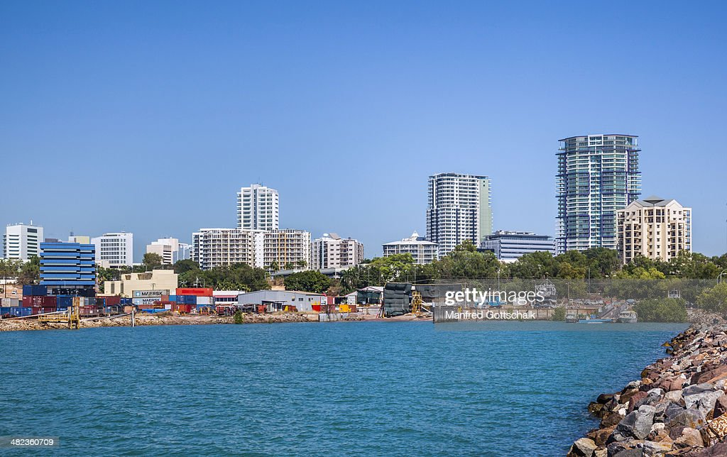 Darwin skyline Fisherman's Wharf