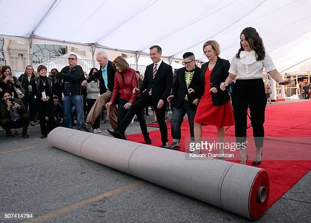 Daryl Anderson SAG Awards CommitteeVice Chair Kathy Connell SAG Awards Executive Producer Los Angeles Mayor Eric Garcetti actress Lea DeLaria nominee...