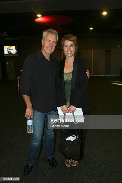 Daryl Braithwaite and Rhys Kelly at the launch of the Countdown Spectacular at Luna Park Milsons Point Sydney SH 18th May 2006 Photographer JAMES...
