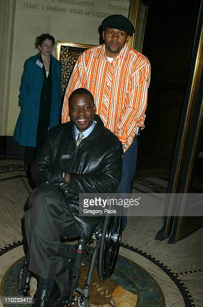 Daryl 'Chill' Mitchell during 'Julius Caesar' Broadway Opening Night After Party at Gotham Hall in New York City New York United States