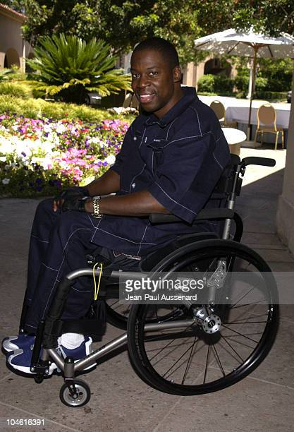 Daryl 'Chill' Mitchell during NBC Summer 2002 Press Tour Day 1 at Ritz Carlton Hotel in Pasadena California United States