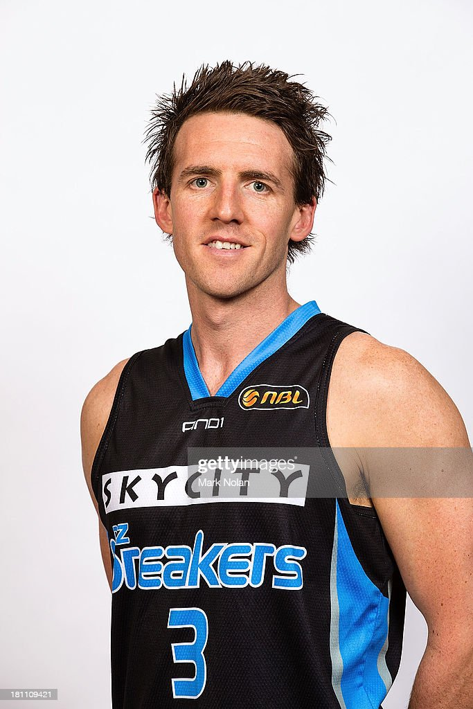Daryl Corletto of the New Zealand Breakers poses for a photo during the official 2013/14 NBL Headshots Session at The Entertainment Quarter on September 19, 2013 in Sydney, Australia.